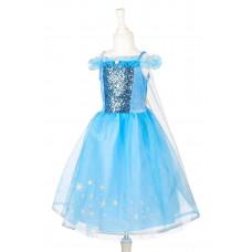 Souza - Udklædningstøj - Prinsesse kjole - Sne Dronning