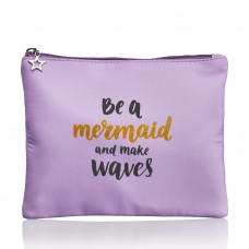 Studio - Børne toilettaske - be a mermaid and make waves - Lilla