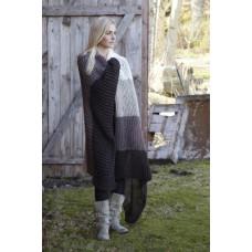 Svarta Fåret - Strikkeopskrift - Lækker strikket tæppe