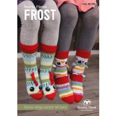 Frost - Strikkehæfte med sjove strømper til børn