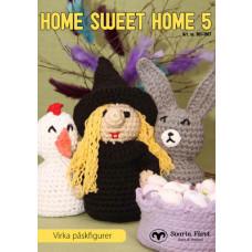 Home Sweet Home 5 - Hækleopskrifter Interiør påske inspireret