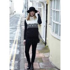 Svarta Fåret - Strikkeopskrift - Smart slipover og sweater