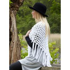 Svarta Fåret - Hækle opskrift - Lækkert Sjal i Super soft