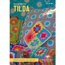TILDA - Hækleopskrifter til mormor firkanter på nye måder