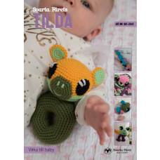 TILDA - Hækleopskrifter til hæklet babylegetøj