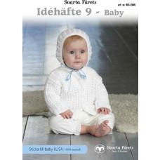 Svarta Fåret - Strikkeopskrift - E-opskrift - Idehæfte 9 - Baby