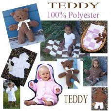 TEDDY - E-opskrift - Strikkeopskrift - Baby