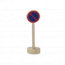 Vejskilte I Træ Til Bilbane - Parkering Forbudt