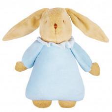 Trousselier - Kanin bamse med spilledåse - Lyseblå