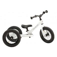 Trybike - Trehjulet løbecykel med retro look - Hvid