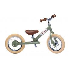 Trybike - Løbecykel med retro look - Vintage green