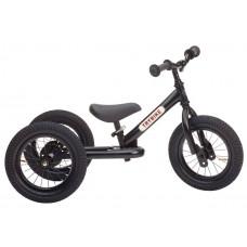 Trybike - Trehjulet løbecykel med retro look - Black