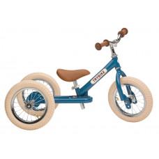 Trybike - Trehjulet løbecykel med retro look - Vintage blue