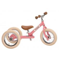 Trybike - Trehjulet løbecykel med retro look - Vintage rose