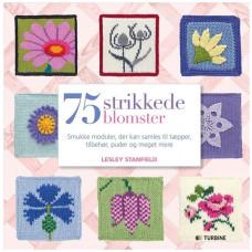 Turbine - Strikkebog - 75 strikkede blomster