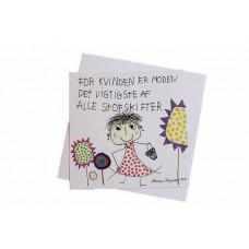 Tusindfryd - Lykønskningskort - Fødselsdagskort - For kvinden er moden