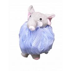 Badesvamp - himmelblå Elefant